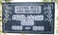 Pearl Lillian <i>Reed</i> Baird