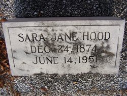 Sarah Jane <i>Brown</i> Hood