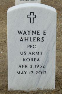 Wayne Edward Ahlers