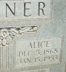 Alice Emma <i>Hairston</i> Joiner