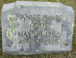 Nannie <i>Hayes</i> Cook