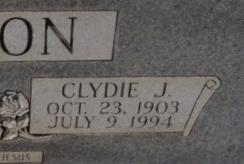 Clydie J Clanton
