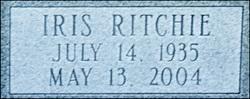 Iris <i>Ritchie</i> Byrne