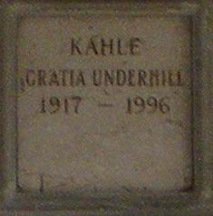 Gratia Florence <i>Underhill</i> Kahle