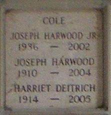 Joseph Harwood Jay Cole, Jr