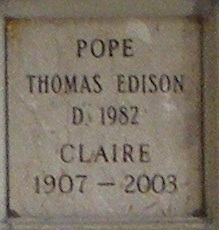 Claire <i>Rertshafer</i> Pope