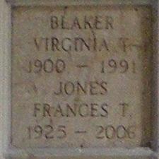 Virginia <i>Taite</i> Blaker