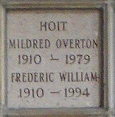Frederic William Hoit