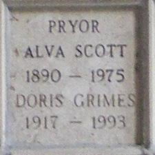 Doris <i>Grimes</i> Pryor