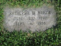 Katheryn Wilfred <i>Brazie</i> Ast