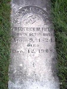 Susan <i>Fletcher</i> Field