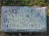 Mary <i>Coppage</i> Thornton