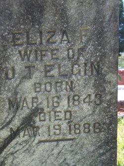 Elizabeth F. Eliza <i>McCarley</i> Elgin