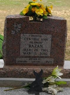 Cynthia <i>Massey</i> Bazan