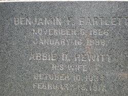 Abbie D <i>Hewitt</i> Bartlett