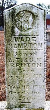 Wade Hampton Bruton