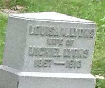 Louisa M Lyon