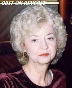 Mrs Diane <i>Hosch</i> Higgins