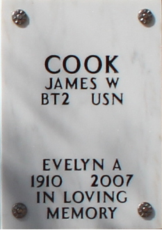 Evelyn Ann Pat <i>Patterson</i> Cook