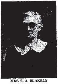 Emma A. <i>Moore</i> Blakely