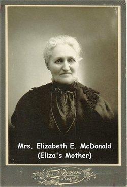Elizabeth <i>Esnouf</i> McDonald