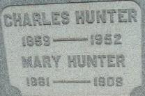 Mary <i>Savage</i> Hunter