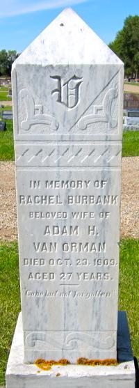 Rachel <i>Burbank</i> Van Orman