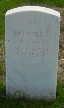 Myrtle Louise <i>Landers</i> Hadley