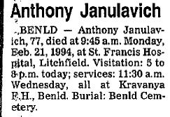 Anthony Janulavich
