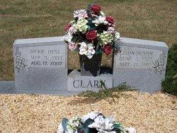 Jacqueline <i>Hess</i> Clark