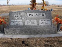Berneice <i>Hepworth</i> Palmer