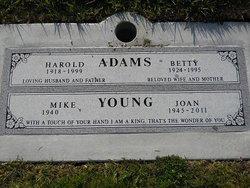 Betty June <i>Baker</i> Adams