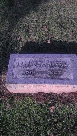 Martha Ellen <i>Lewis</i> Adams