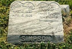 Mary Jane <i>Hill</i> Simpson