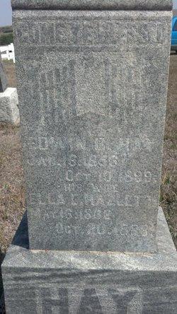 Edwin Bottomley Ed Hay