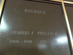 Charles J Balbach