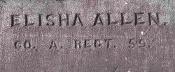Pvt Elisha P Allen