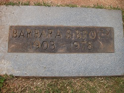 Barbara Catherine <i>Baabe</i> Brock