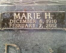Marie <i>Huggins</i> Arnold