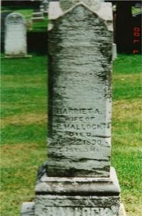 Harriet Ann <i>Sperry</i> Hallock