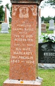 Margaret Maggie <i>McLachlan</i> Baird