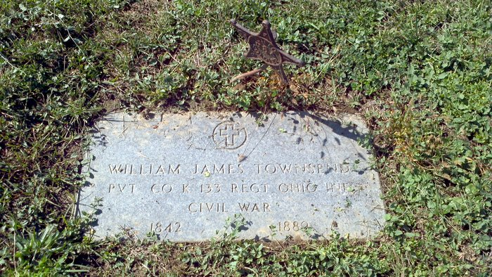 William James Townsend Gravestone