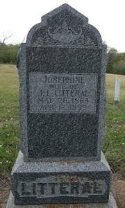 Josephine <i>Barron</i> Litteral