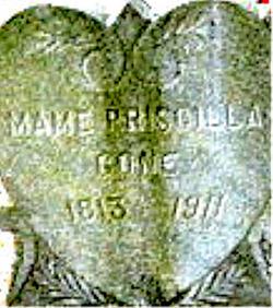 Mame Priscilla SILLER <i>Davis</i> Cone