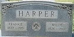 Willie Hicks <i>Plummer</i> Harper