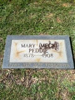 Mary <i>Meck</i> Peddie
