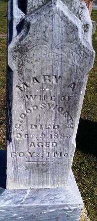 Mary Ann <i>Sterne</i> Dodsworth
