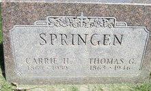 Tosten Gunder Thomas Springen