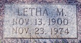Letha Myrtle <i>Johnson</i> Howard