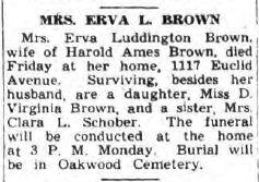 Erva <i>Luddington</i> Brown